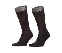 Socken Doppelpack von Tom Rusborg in Schwarz für Herren