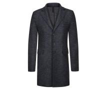 Kurzmantel Tweed Abseite von Harris Wharf London in Anthrazit für Herren