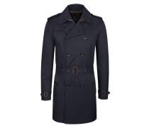 Klassischer Mantel, Trenchcoat von Tom in Marine für Herren