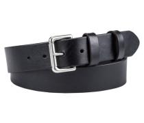 Ledergürtel, Rindsleder von Polo Ralph Lauren in Schwarz für Herren