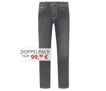 Jeans mit Stretchanteil von Tom Rusborg in Grau für Herren