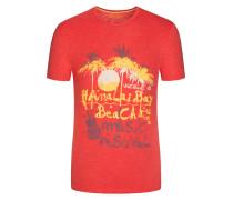 T-Shirt mit Frontprint von Tom Made In Heaven in Rot für Herren