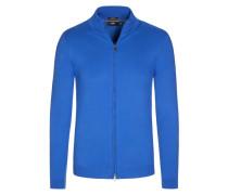 Strickjacke, Slim Fit, unifarben von Boss in Blau für Herren