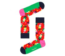 Socken mit Weihnachtsmann-Motiv