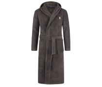 Frottee-Bademantel mit Kapuze von Polo Ralph Lauren in Grau für Herren