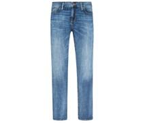 Pipe Regular Fit Jeans von Alberto in Blau für Herren