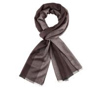 Schlichter Schal mit Streifen von Tom Rusborg in Braun für Herren