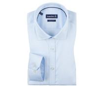 Businesshemd mit extra langem Arm von Jacques Britt in Blau für Herren