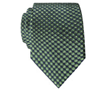 Krawatte mit Rautenmuster von Tom in Gruen für Herren