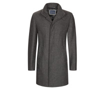 Mantel mit Stehkragen von Tom Rusborg in Anthrazit für Herren
