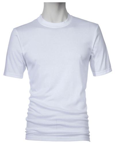 Unterhemd, Rundhals in Weiss