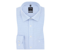 Luxor modern fit Hemd, kariert von Olymp in Blau für Herren