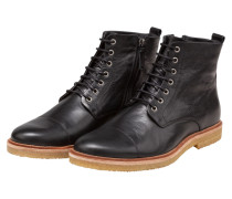 Robuste Boots, Cast Creep Legioner von Royal Republiq in Schwarz für Herren