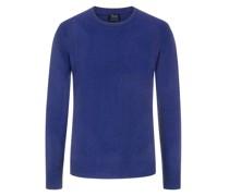 Pullover aus 100% Kaschmir, O-Neck  Dunkel
