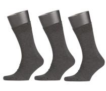 Dreierpack Socken von Tom Rusborg in Grau für Herren
