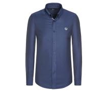 Freizeithemd, leicht changierend von Fred Perry in Blau für Herren