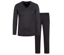 Pyjama von Boss in Schwarz für Herren