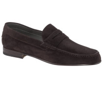 Loafer aus Velours-Leder