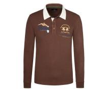 Modisches Rugby-Shirt von La Martina in Braun für Herren