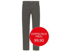 Gemusterte Jeans, Sanchez von Tom Rusborg in Grau für Herren