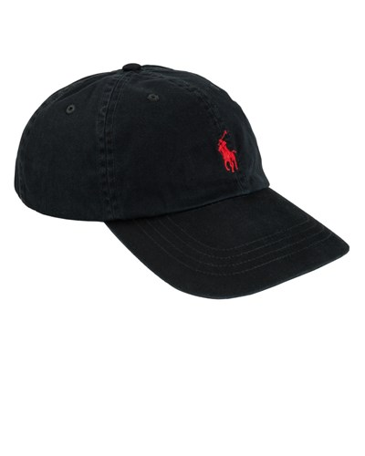 ralph lauren herren sport cap schwarz von polo ralph lauren reduziert. Black Bedroom Furniture Sets. Home Design Ideas