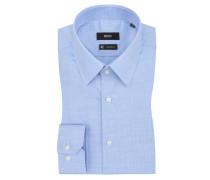 Businesshemd mit Kentkragen, Enzo von Boss in Blau für Herren