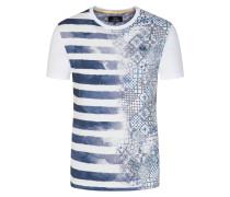 T-Shirt, modisch von La Martina in Weiss für Herren