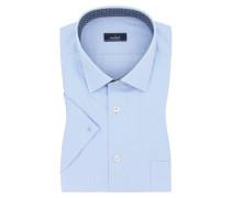 Fein strukturiertes Kurzarmhemd, bequem geschnitten von Van Laack in Hellblau für Herren