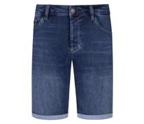 Jeans-Bermuda  Dunkel