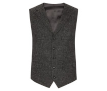 Harris Tweed Weste von Tom Rusborg in Anthrazit für Herren