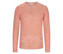 Sweatshirt mit weitem Rundhalsausschnitt von Daniele Fiesoli in Orange für Herren