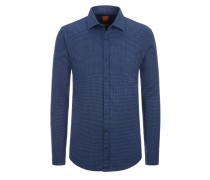 Modisches Freizeithemd, Slim Fit von Boss Orange in M.blau für Herren