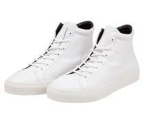 Bequemer Leder-Sneaker, Spartacus Low Cut von Royal Republiq in Weiss für Herren