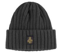 Warme Grob-Strick-Mütze von Refrigiwear in Anthrazit für Herren