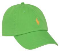 Cap mit Logo-Stickerei Gruen