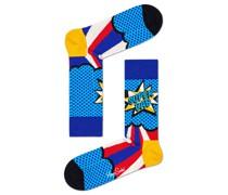 Socken mit Comic-Schriftzug  Royal