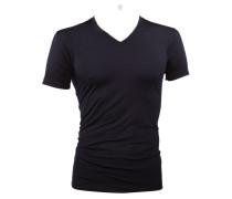 V-Kragen-Shirt von Novila in Marine für Herren