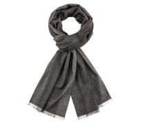 Schlichter Schal mit Streifen von Tom Rusborg in Grau für Herren