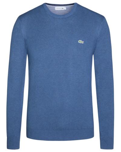 Rundhals-Pullover von Lacoste in Denim für Herren
