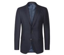 Aktuelles Sakko in Drem-Tweed-Qualität, Loro Piana von Tom Rusborg Premium in Marine für Herren