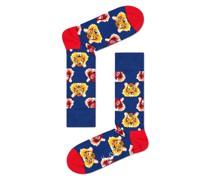 Socken mit modischem Motiv  Royal