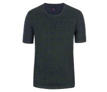T-Shirt, modischer Print von Tom Rusborg in Blau für Herren