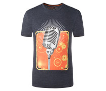 T-Shirt mit Frontprint von Tom Made In Heaven in Anthrazit für Herren