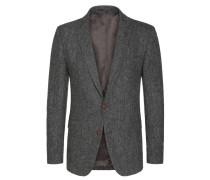 Harris Tweed Sakko im Fischgrätdessin von Tom Rusborg in Grau für Herren