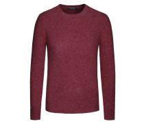 Sehr weicher Pullover im Merinowolle-Kaschmir-Mix von Polo Ralph Lauren in Bordeaux für Herren