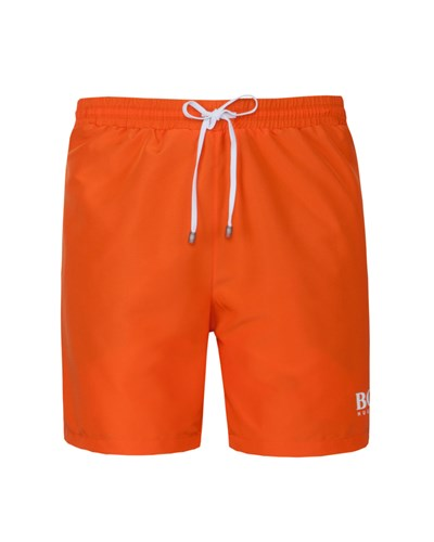 hugo boss herren badehose starfish orange von boss 20 reduziert. Black Bedroom Furniture Sets. Home Design Ideas