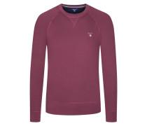Sweatshirt mit Raglanärmeln von Gant in Bordeaux für Herren