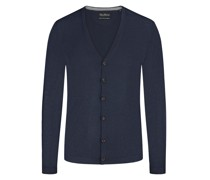 Cardigan, Slim Fit  Marine