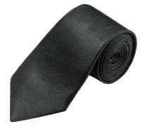 Modisch schmale Krawatte, uni von Olymp in Schwarz für Herren