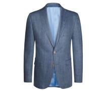 Sakko aus reiner Seide von Tom Rusborg in Blau für Herren